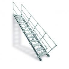 Treppenbausatz, Aluminium