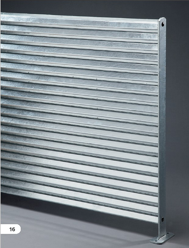 Zaunsystem Jalou Typ 1 - solid - 2000